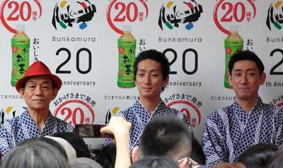 第1回渋谷時代祭・お練り_b0056983_17375745.jpg