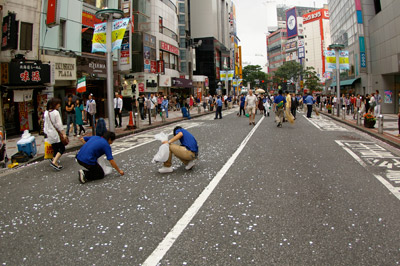 第1回渋谷時代祭・お練り_b0056983_1738494.jpg
