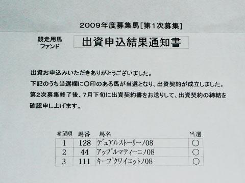 3タテ〜2009年度社台出資馬_a0036685_2195281.jpg