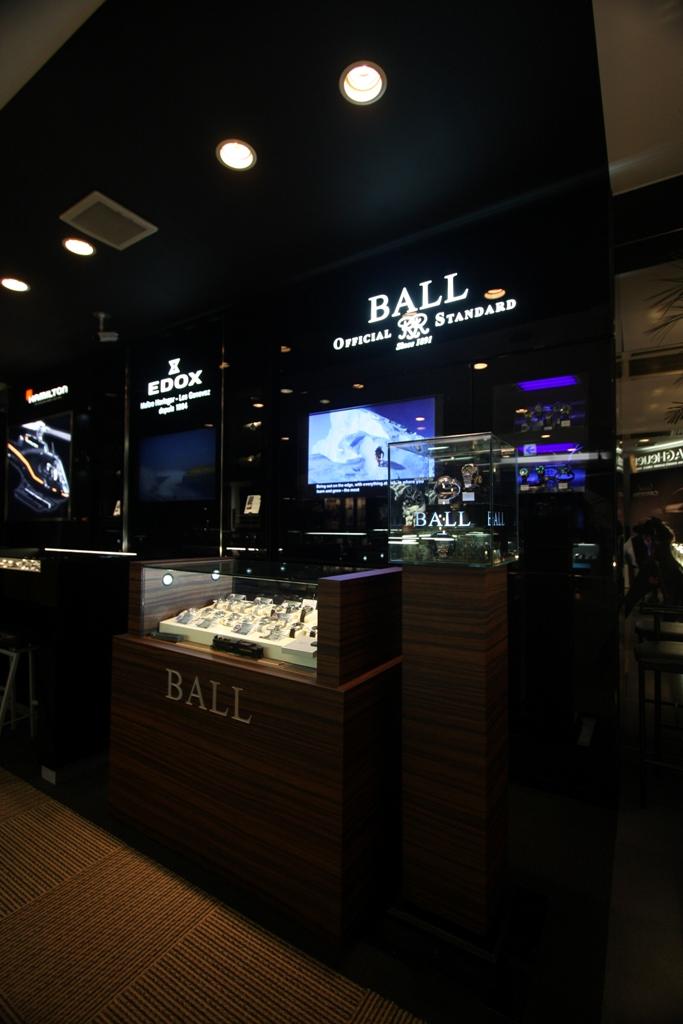 BEST新宿本店/ハミルトン、ボール・ウォッチなどがリニューアル_f0039351_1745194.jpg
