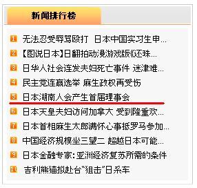 日本湖南人会理事会名簿発表の記事 人民網日本版アクセス5位に_d0027795_1731550.jpg