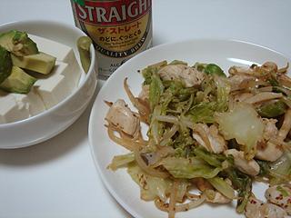鶏むね肉のマスタード炒め_c0025217_0272335.jpg