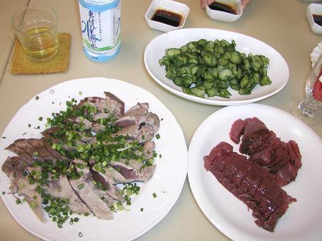 男の料理「鰹をさばく」_c0180460_1459114.jpg