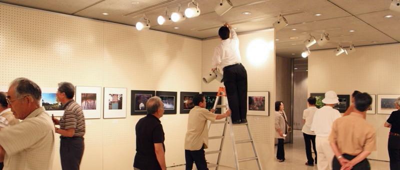 09年7月9日・クラブ写真展搬入_c0129671_20581999.jpg