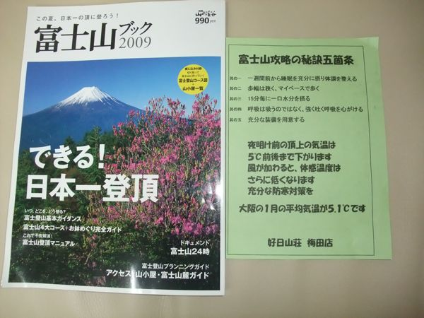富士登山の準備_f0135575_17385068.jpg