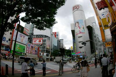 7月9日(木)今日の渋谷109前交差点_b0056983_1401066.jpg