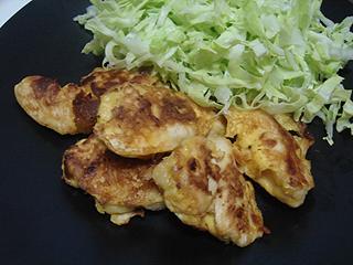 鶏むね肉のピカタ_c0025217_0102649.jpg