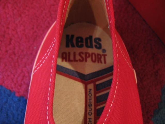 7月11日入荷商品!60-70\'S KEDS ALL SPORTS RED デッドストック_c0144020_1351213.jpg