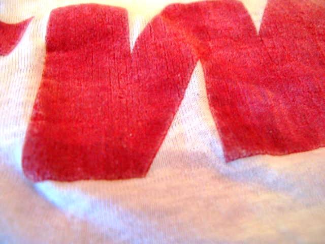 7月11日入荷商品!50'S 両面フロッキープリント Tシャツ! _c0144020_13595065.jpg