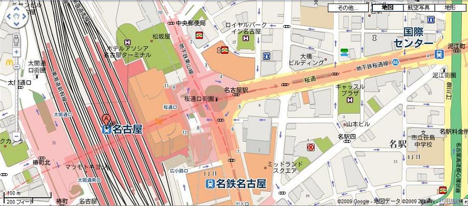 いつかロケ地になる名古屋駅_a0107574_2317655.jpg