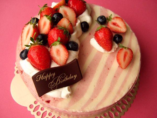 お誕生日ケーキ♪_e0160246_2291681.jpg