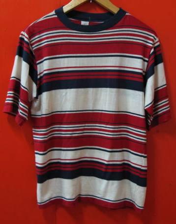 60\'S-70'S ジャンセン ボーダーTシャツ!_c0144020_17191685.jpg