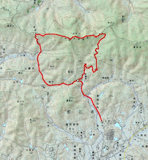 トレラン「大平山」 単独_d0007657_14431971.jpg