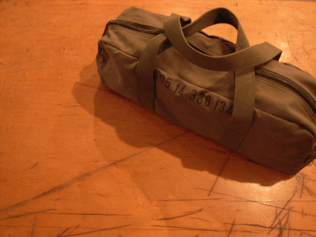 """FR COTTON SMALL DUFFLE BAG OLV\""ってこんなこと。_c0140560_16323752.jpg"