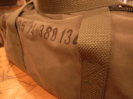 """FR COTTON SMALL DUFFLE BAG OLV\""ってこんなこと。_c0140560_16335982.jpg"