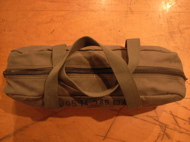 """FR COTTON SMALL DUFFLE BAG OLV\""ってこんなこと。_c0140560_1634184.jpg"