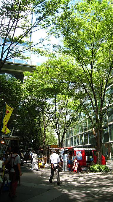 ランチ            東京国際フォーラム ガラス館前_a0107574_21102918.jpg