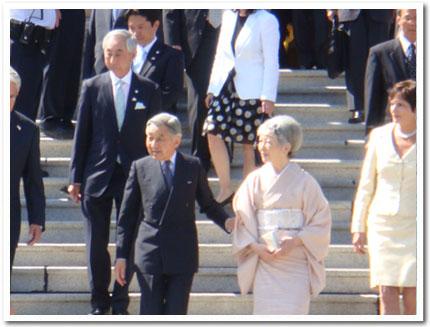 天皇皇后両陛下ビクトリアご来訪 その3_b0117700_12131991.jpg