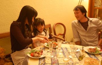 13日の晩餐。_c0180686_17393377.jpg