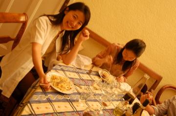 13日の晩餐。_c0180686_1865830.jpg