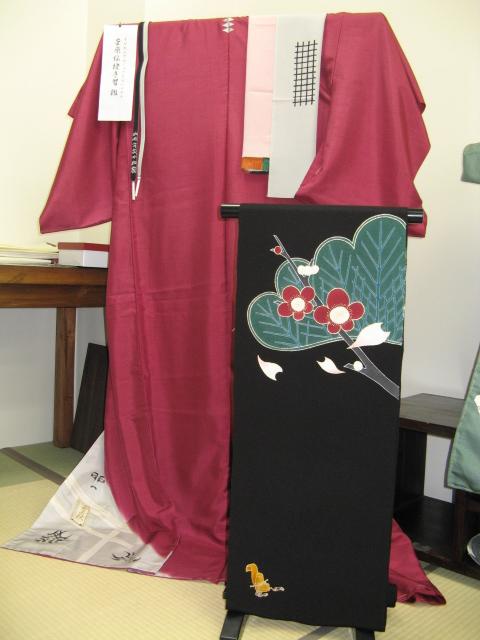 歌舞伎座さよなら記念  「演」のきもの_e0123712_16513113.jpg