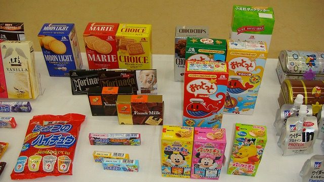 工場見学 1 森永製菓_a0126379_1505856.jpg
