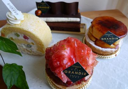 『グランディール』さんのケーキ_b0142989_18431768.jpg