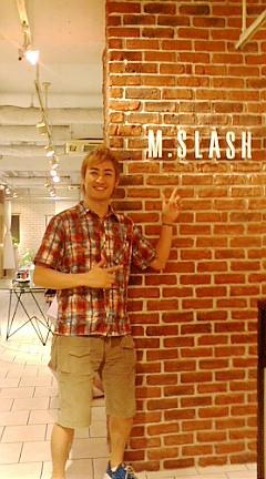 M.SLASHで夏仕様にしてもらっちゃいました!!_b0032617_045664.jpg