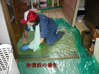 防虫作業・浴室関連作業_f0031037_19445084.jpg