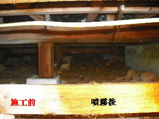 防虫作業・浴室関連作業_f0031037_19472069.jpg