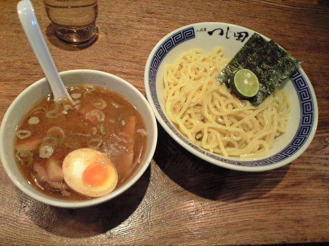 つじ田のつけ麺_c0151965_1493595.jpg
