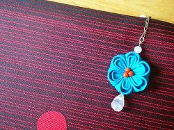 青いお花の帯飾り_e0168583_17512127.jpg