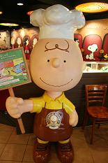 念願のCHARLIE BROWN cafe♥_d0088196_106143.jpg