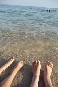 ユキちゃんが見つけた海の色_f0106597_23431483.jpg