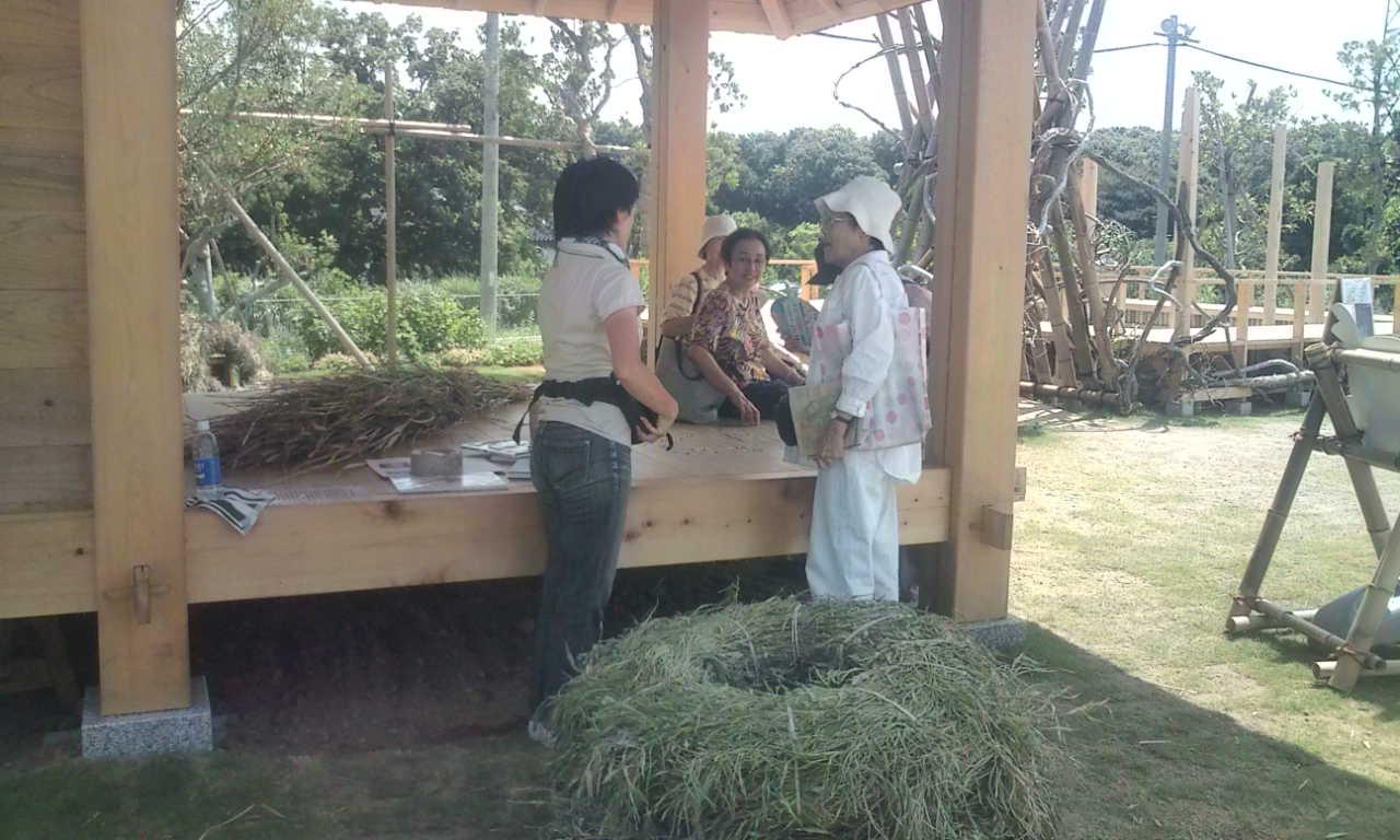 木匠塾の茶堂=横浜開国博Y150_f0073301_1526469.jpg