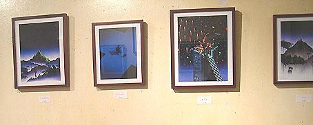 """『戸川純一郎イラストレーション展 """"夜の猫""""』は終了しました。_f0138928_16321573.jpg"""