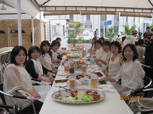 大津プリンスホテルのガーデンレストランでバーべキュー_b0100062_1310124.jpg