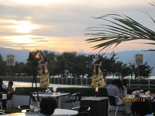 大津プリンスホテルのガーデンレストランでバーべキュー_b0100062_1314154.jpg