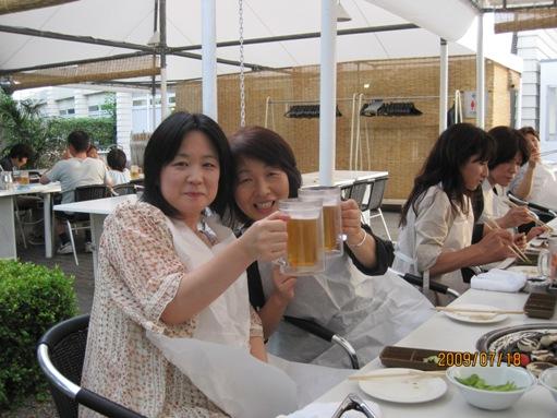 大津プリンスホテルのガーデンレストランでバーべキュー_b0100062_1393810.jpg