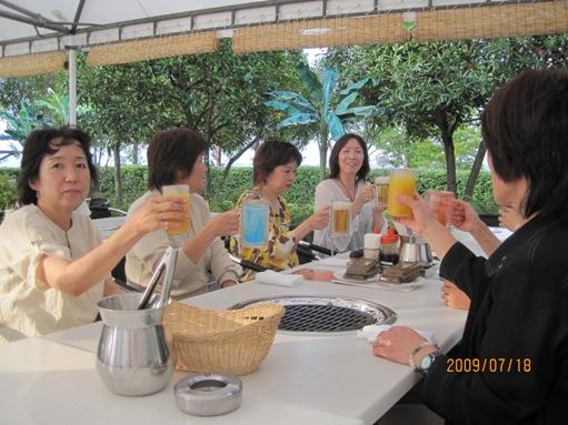 大津プリンスホテルのガーデンレストランでバーべキュー_b0100062_139982.jpg