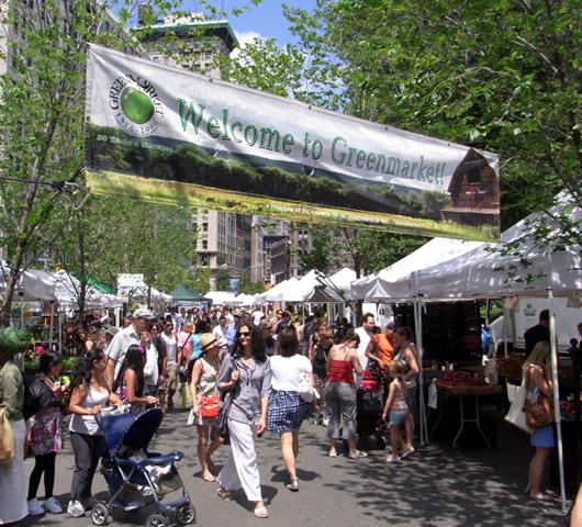 夏のニューヨークの青空市場 グリーンマーケット_b0007805_446756.jpg