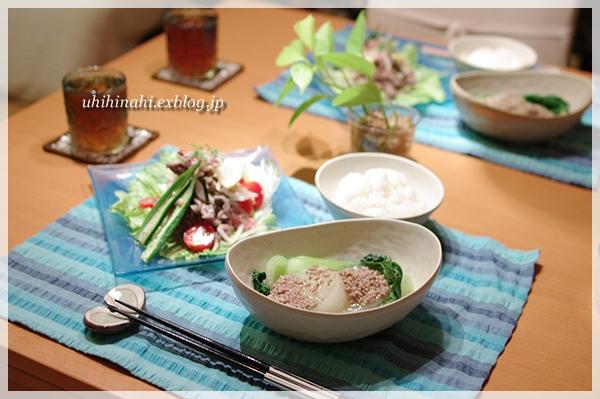 大根と青梗菜の花椒あんかけ_f0179404_2120274.jpg