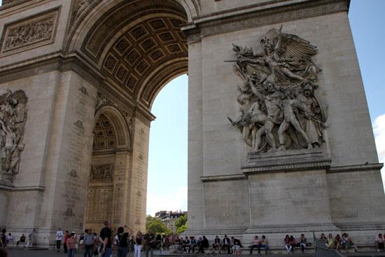 凱旋門 パリをめぐる1 _e0048413_20155436.jpg