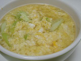 ピリ辛鶏そぼろご飯と鶏卵スープ_c0025217_18275416.jpg