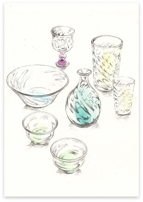 倉敷ガラス 小谷真三・栄次 父子展のお知らせ_f0197821_12452510.jpg