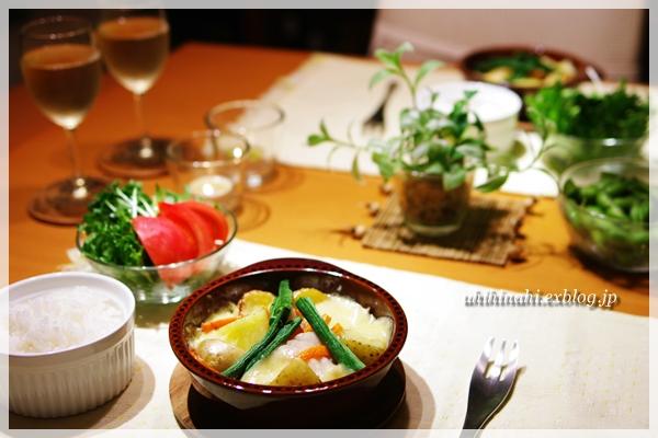タラとジャガのスイスチーズ焼き_f0179404_21413827.jpg