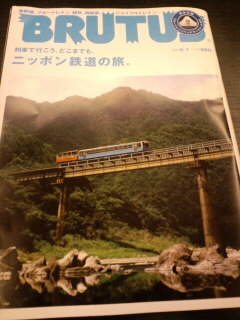 BRUTUSニッポン鉄道の旅。&ニッポンカレー大全_c0033210_1172336.jpg