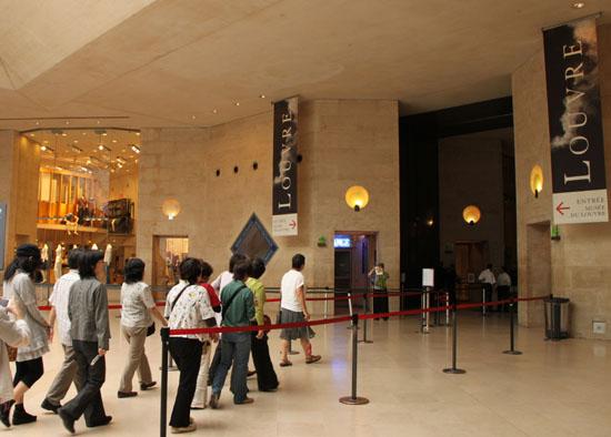 ルーブル美術館1 パリをめぐる 5_e0048413_2033480.jpg