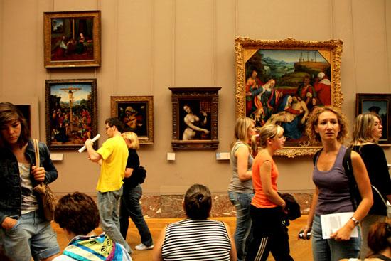 ルーブル美術館2 パリをめぐる 6_e0048413_2164288.jpg