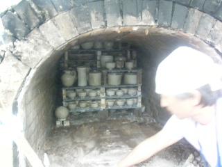 穴窯焼成を見学に行きました_e0085133_21133477.jpg